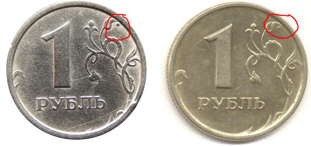 Монеты 1997 года с широким кантом