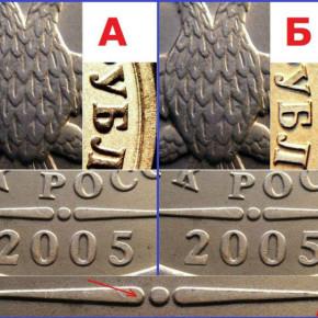 Частые запросы о цене на редкие монеты современной России