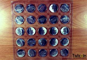 Лист монет Сочи 2014