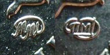 знаки монетных дворов