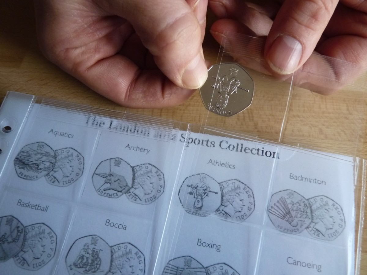 Один из видов альбома для монет