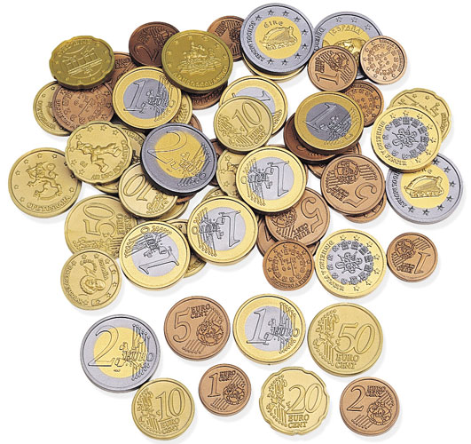 euro монеты фото