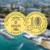 10 рублевая монета Анапа ГВС 2014